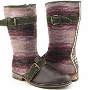 True Religion Distressed Cadee Boots Boho Cowgirl